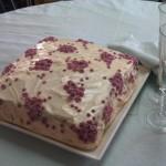 cake en icing de mantequilla